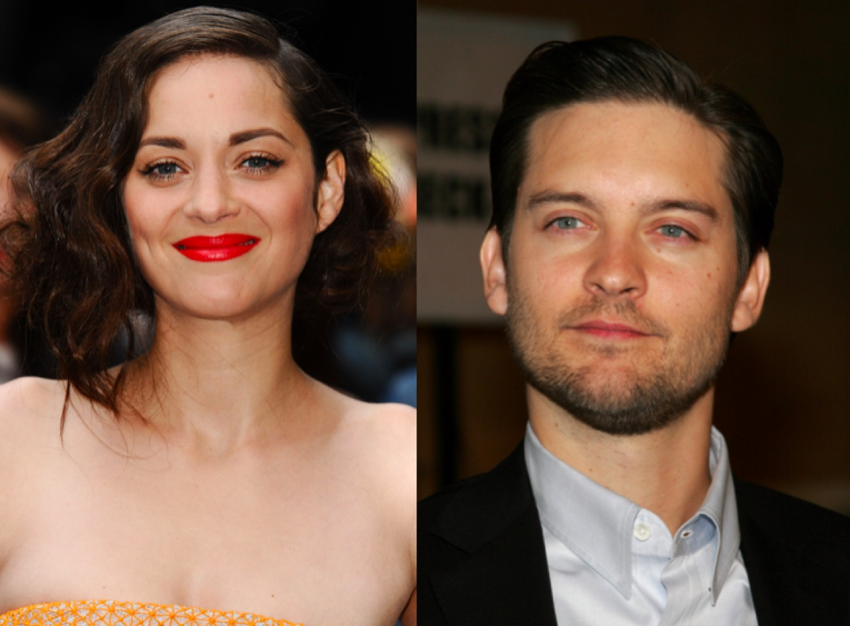 Marion Cotillard and Tobey Maguire