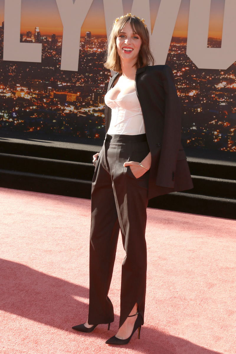 """Maya Hawke at the premiere of """"Once Upon a Time in Hollywood"""" in 2019"""
