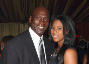 Michael and Jasmine Jordan at Jordan All-Star in 2012