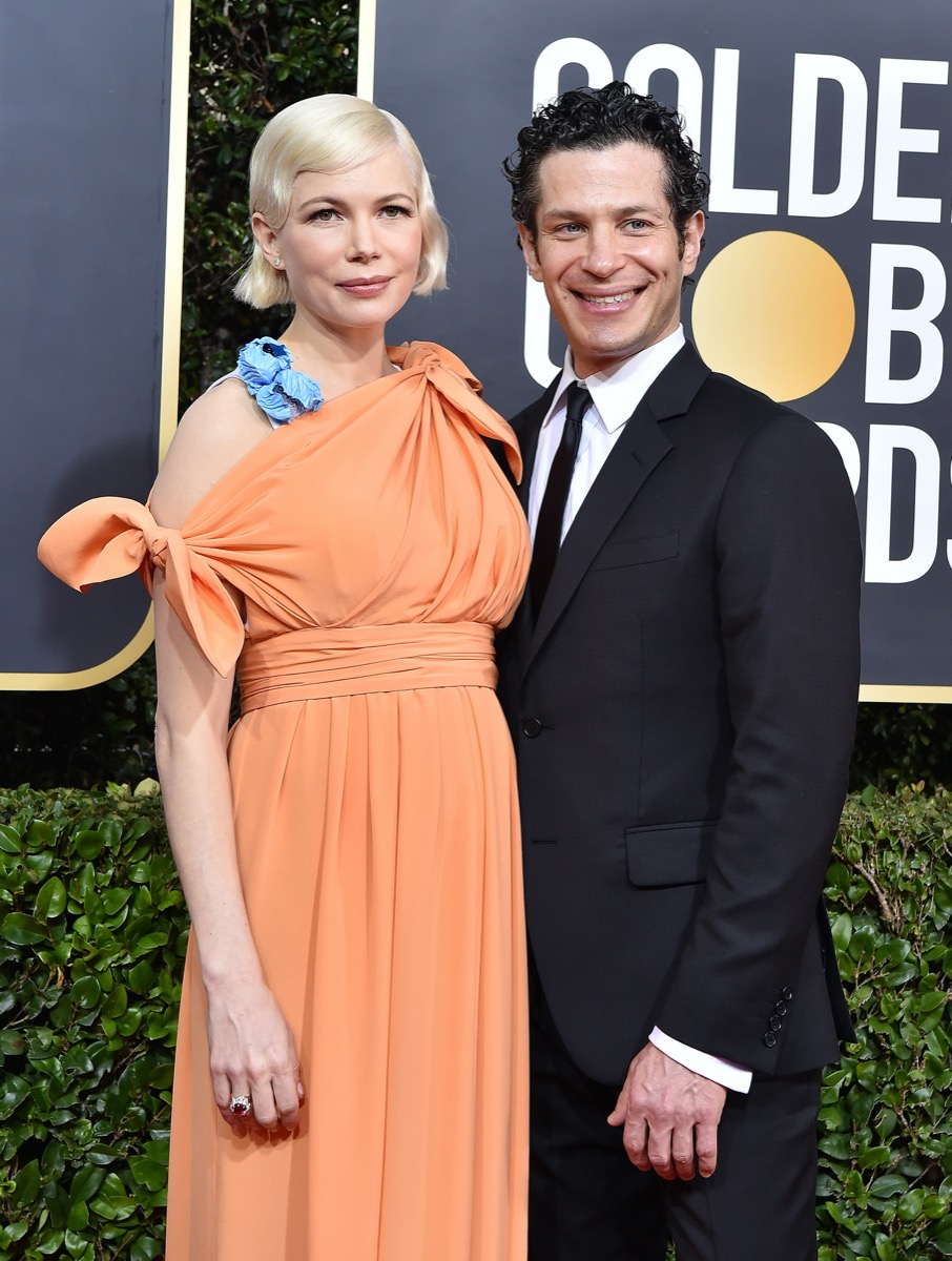 Michelle Williams and Thomas Kail in 2020