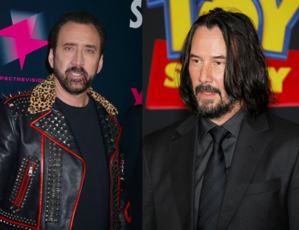 Nicolas Cage and Keanu Reeves