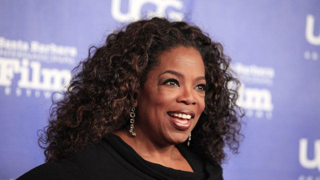 Oprah Winfrey at the Santa Barbara International Film Festival in 2014