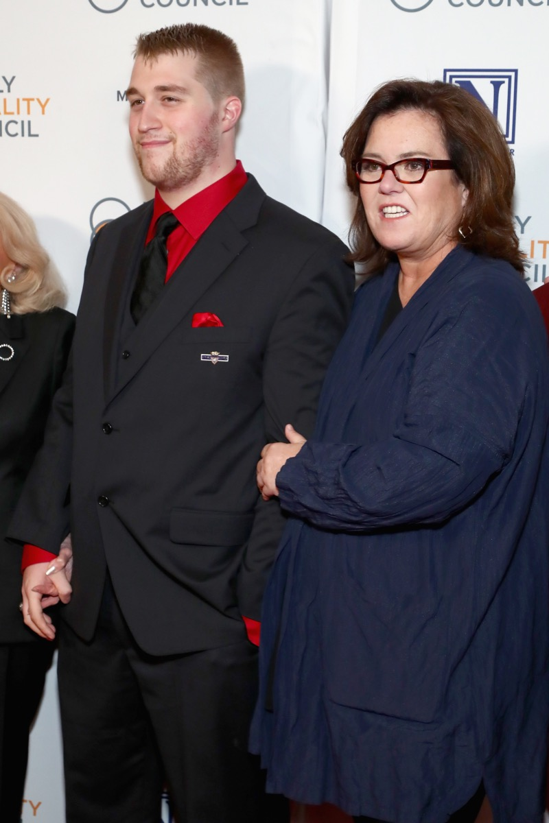 Rosie O'Donnell and son Parker O'Donnell