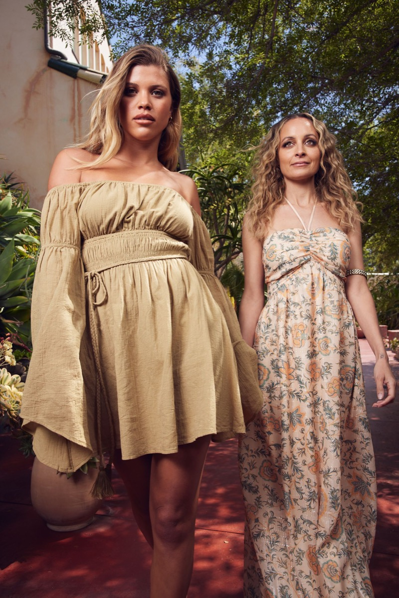 Sofia and Nicole Richie for House of Harlow