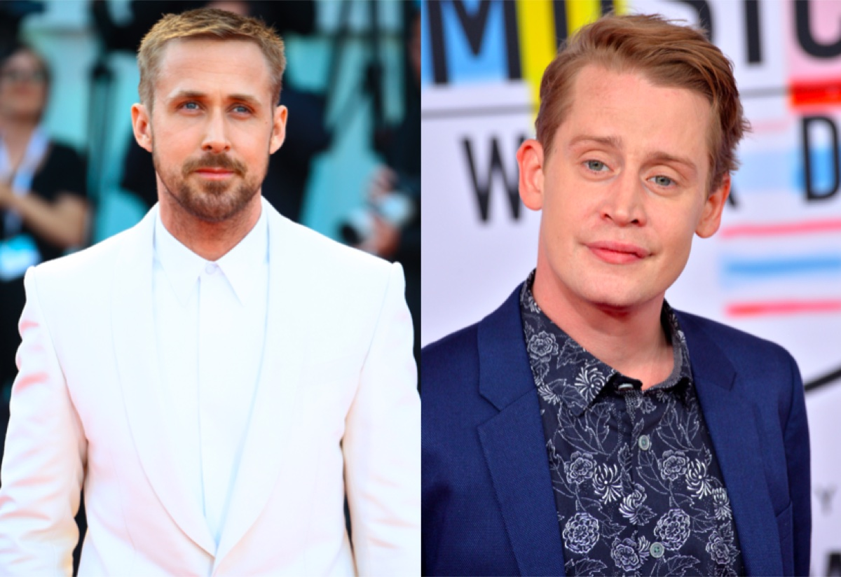 Ryan Gosling and Macaulay Culkin