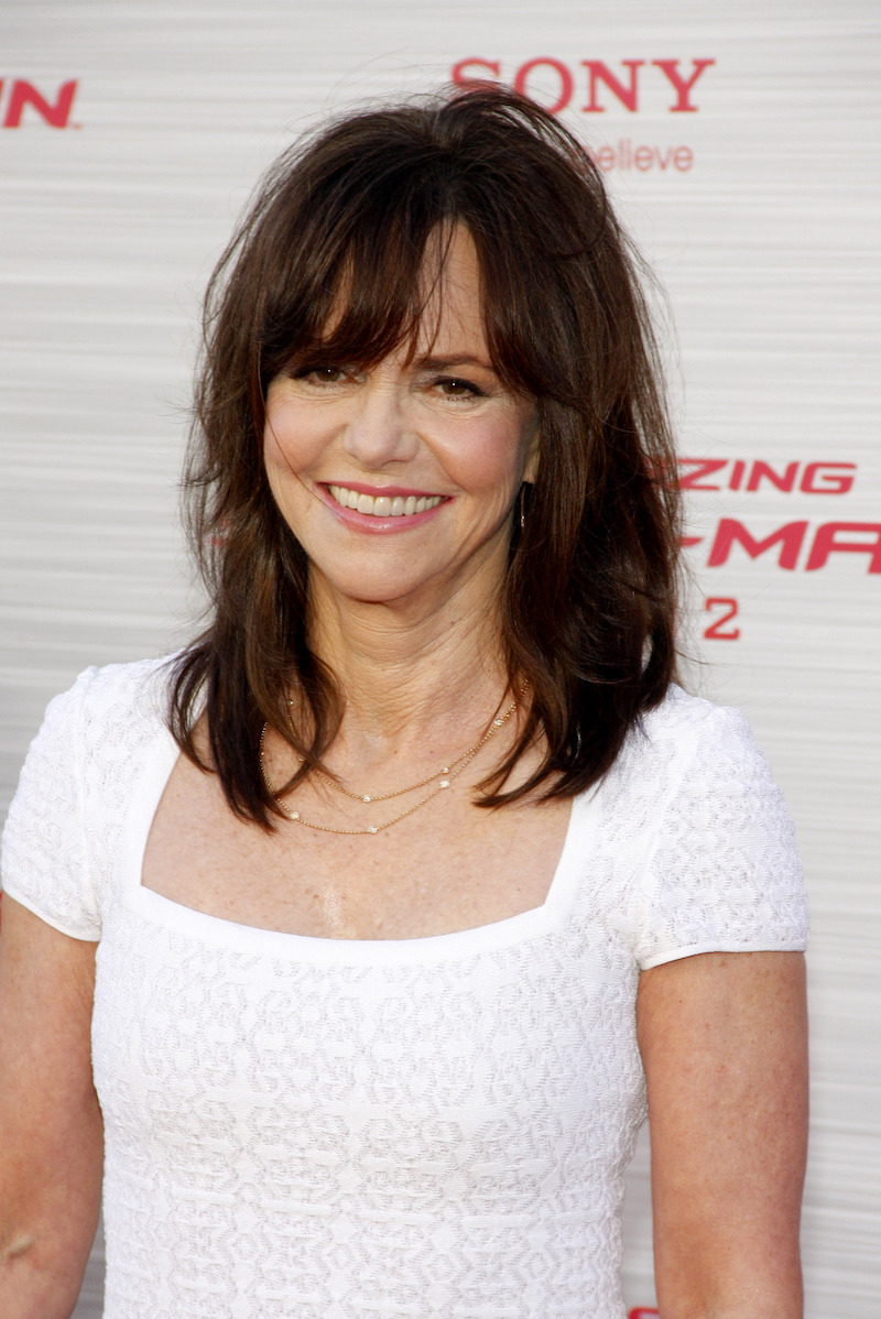 """Sally Field at the premiere of """"The Amazing Spider-Man"""" in 2012"""