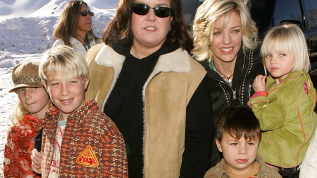 Rosie O'Donnell Kelli Carpenter family