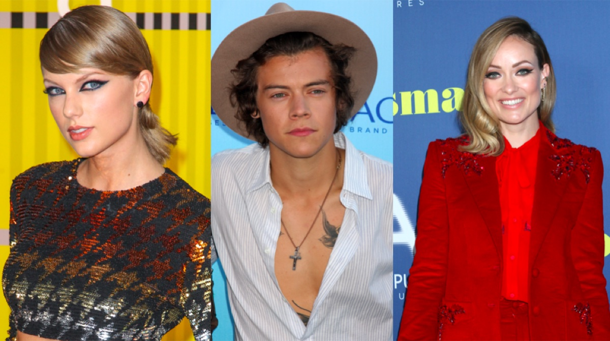 Taylor Swift, Harry Styles, and Olivia Wilde