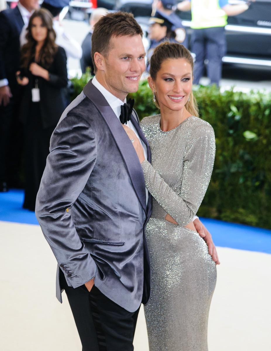 Tom Brady and Gisele Bundchen in 2017