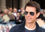 """Tom Cruise at the """"Rock of Ages"""" premiere in London in 2012"""