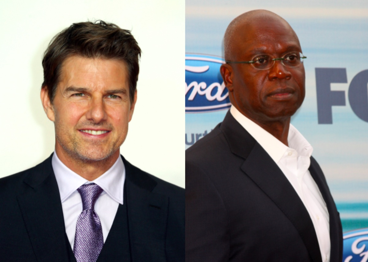 Tom Cruise and Andre Braugher