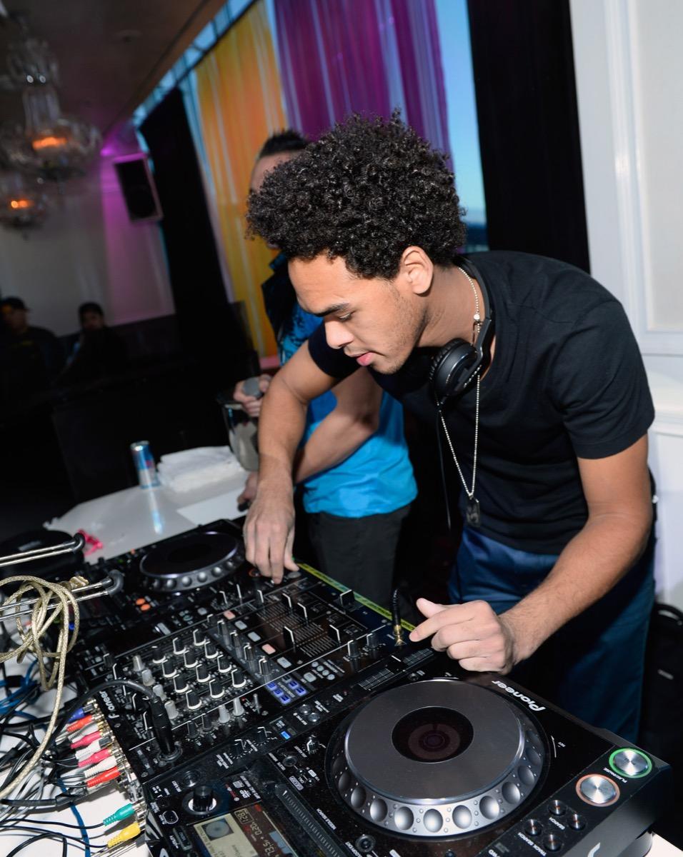 Trey Smith DJ AcE working event