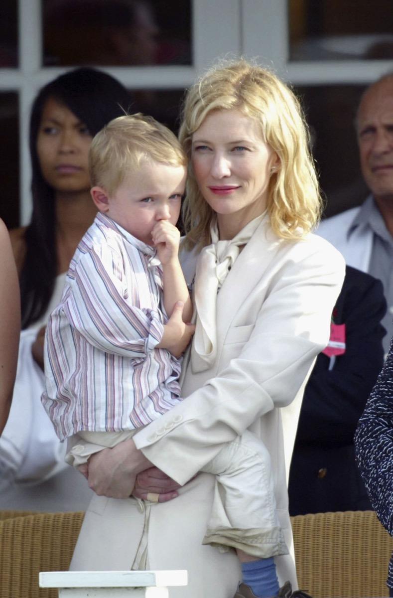 Cate Blanchett and Dashiell Upton 2005