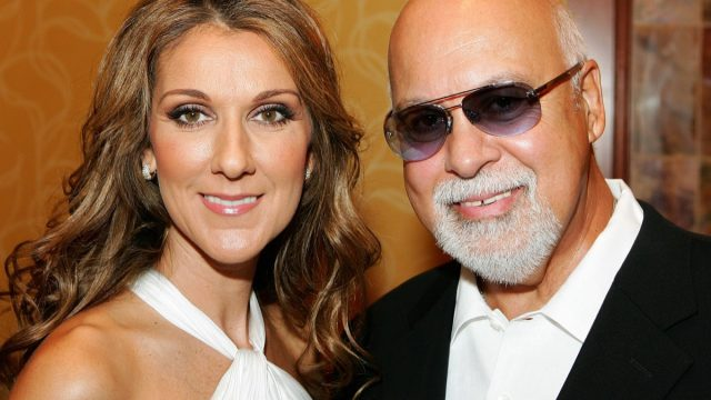 Celine Dion and René Angélil