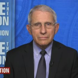 fauci speaks during his interview on may 16