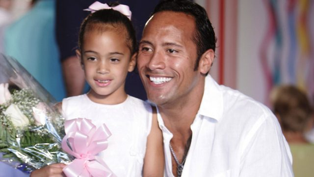 """Dwayne """"The Rock"""" Johnson and Simone Alexander Johnson at Me and My Daddy The Mercy Foundation Children's Fashion Show - June 3, 2006"""