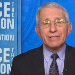 Anthony Fauci on Face the Nation on May 16