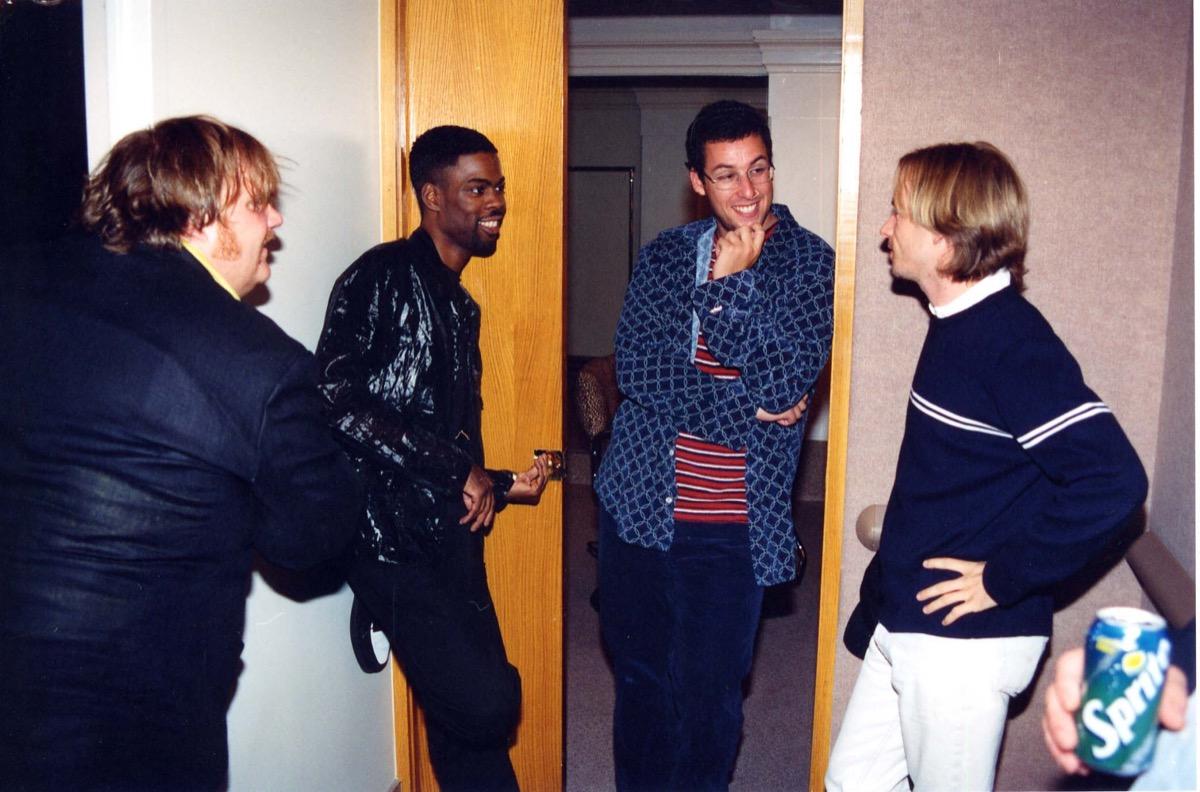 Chris Rock, Chris Farley, David Spade, Adam Sandler