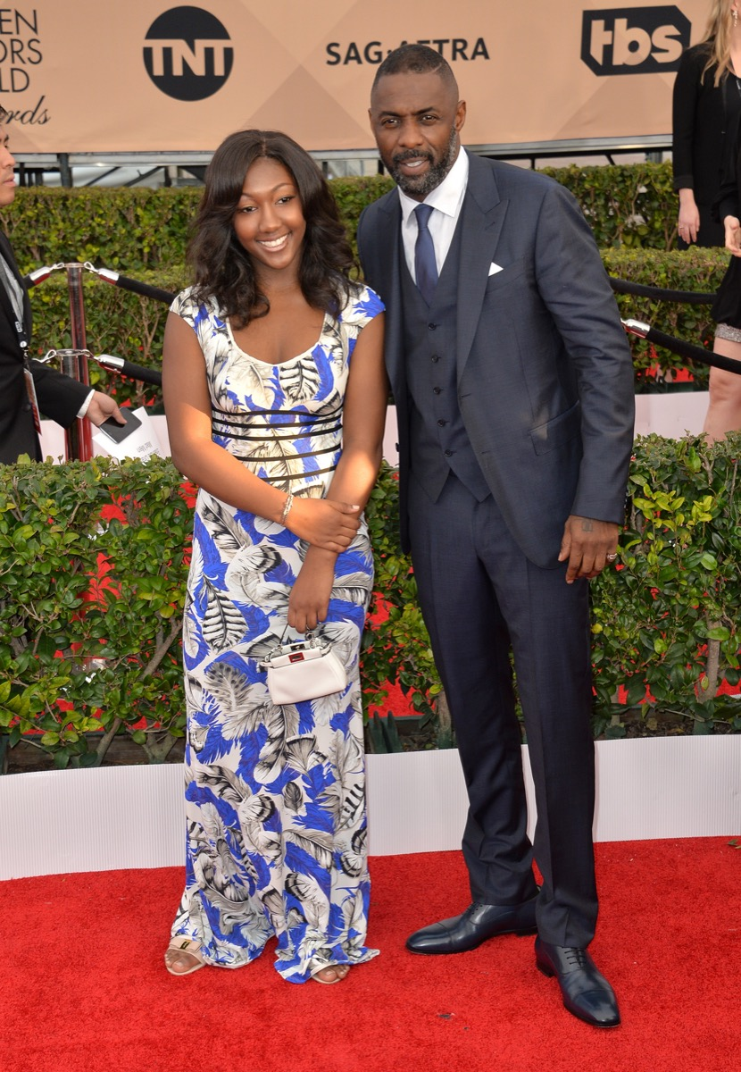 Idris Elba and Isan Elba 2016