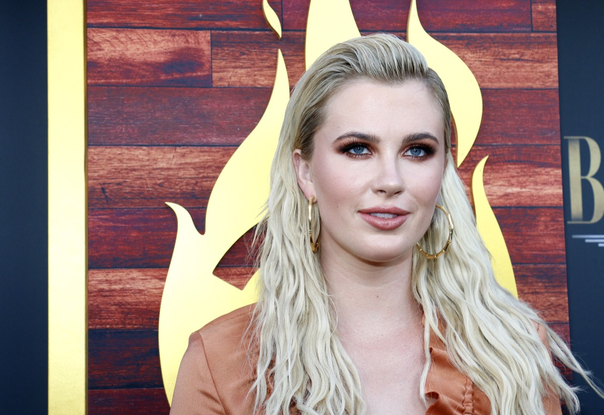 Ireland Baldwin at the Comedy Central Roast of Alec Baldwin held at the Saban Theatre in Beverly Hills, USA on September 7, 2019.