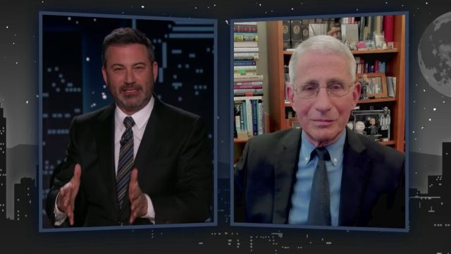 Jimmy kimmel anthony fauci interview