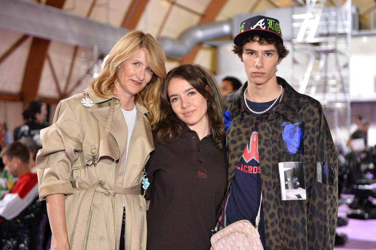 Laura Dern, Jaya Harper, and Ellery Harper 2020