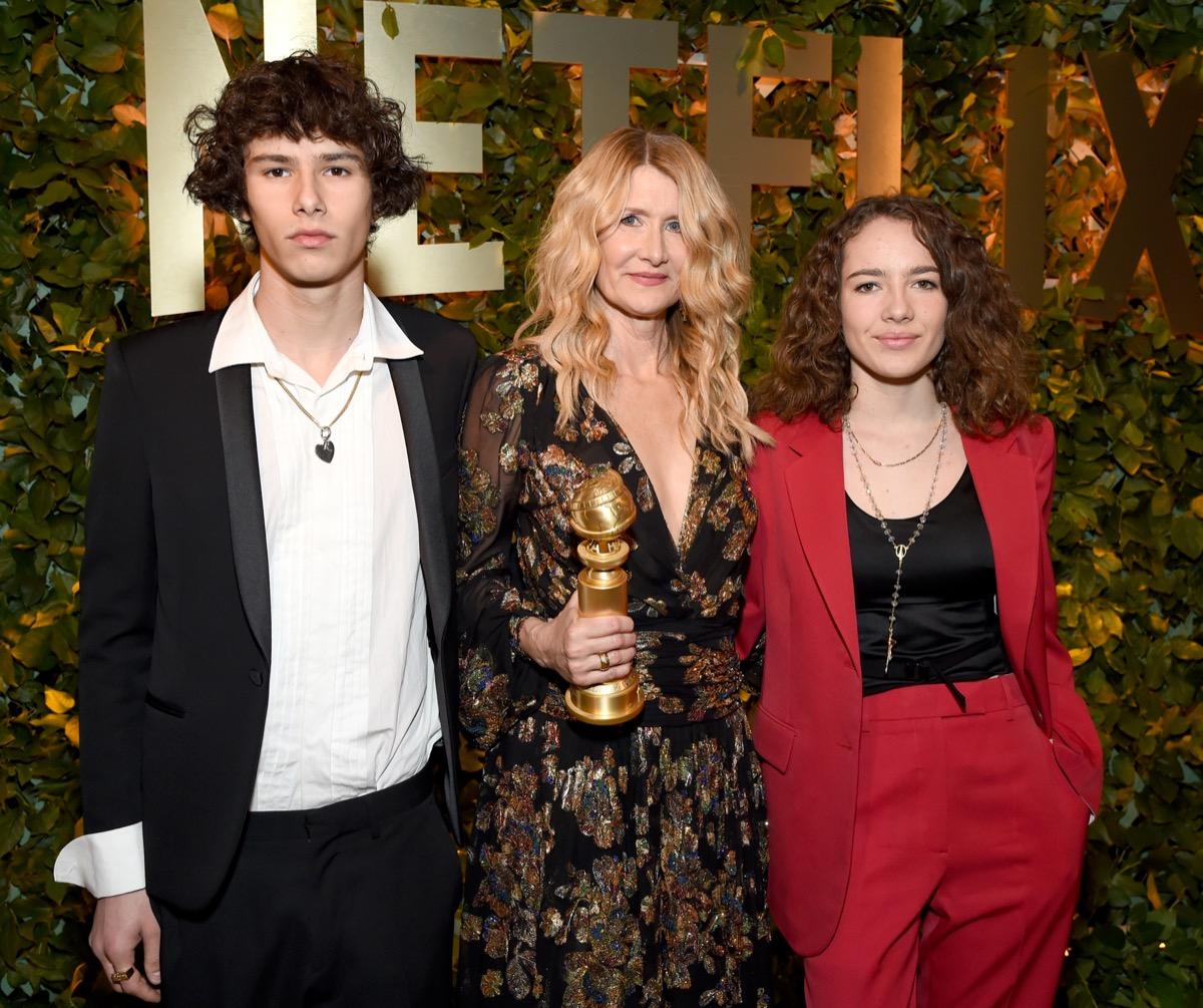 Jaya Harper, Laura Dern, and Ellery Harper 2020