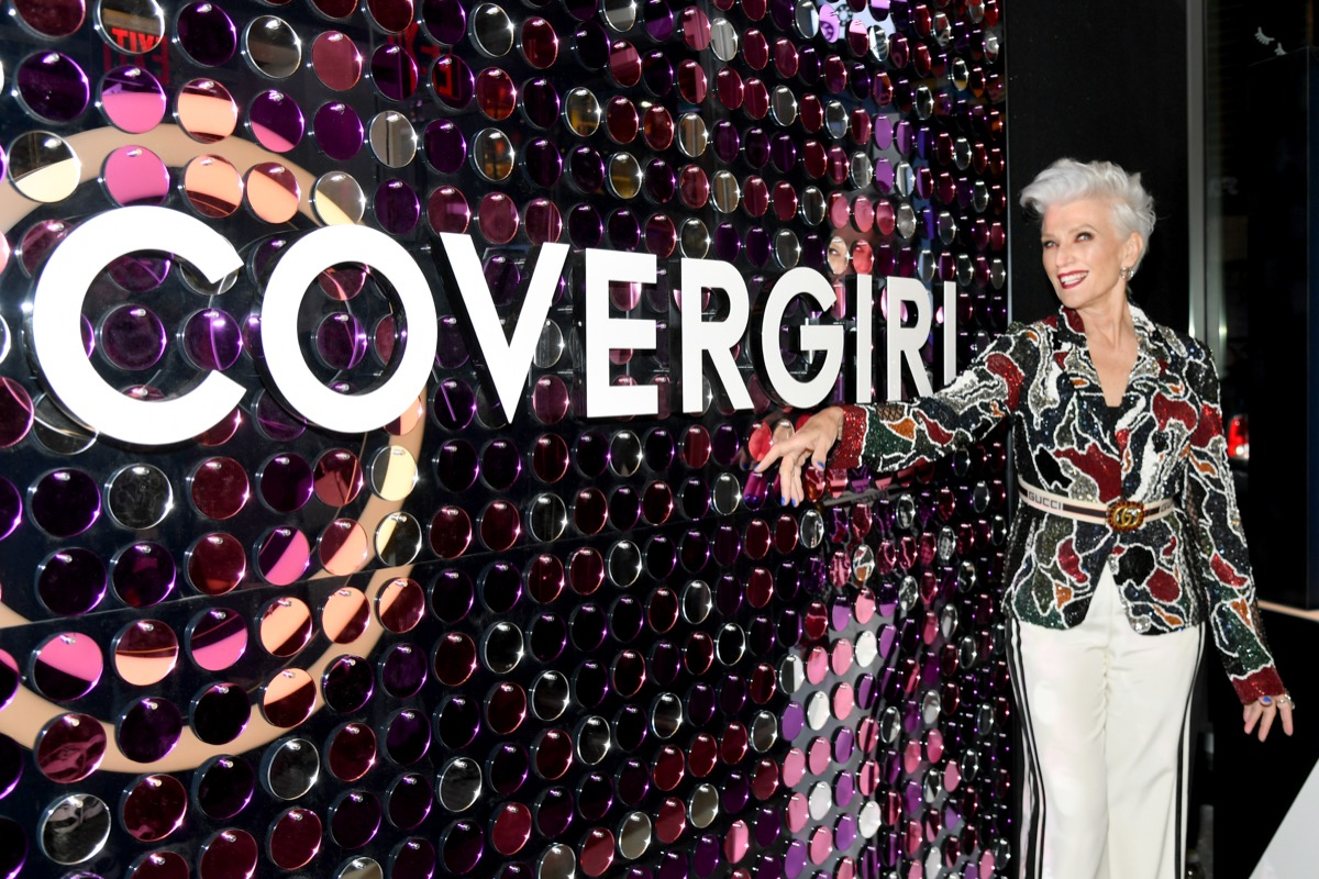 Maye musk becomes a covergirl