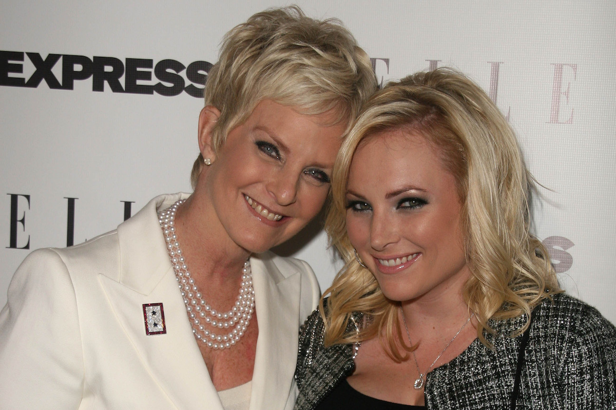 """Cindy McCain, Meghan McCain at the ELLE and Express """"25 at 25"""" Event, Palihouse, West Hollywood, in 2010"""