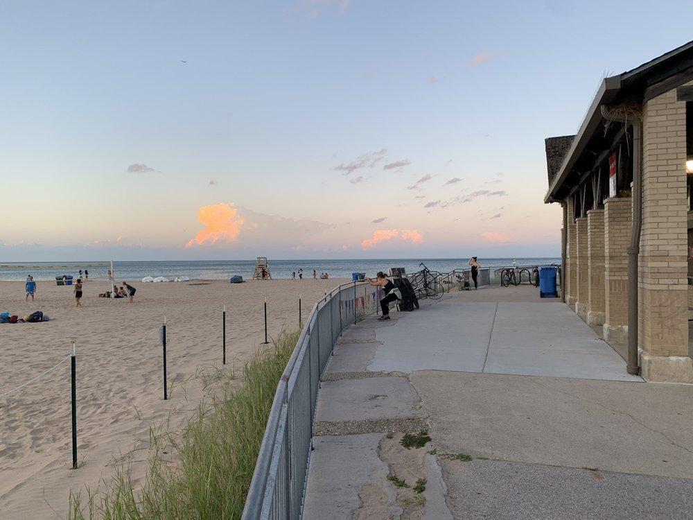 Foster Avenue Beach in Chicago