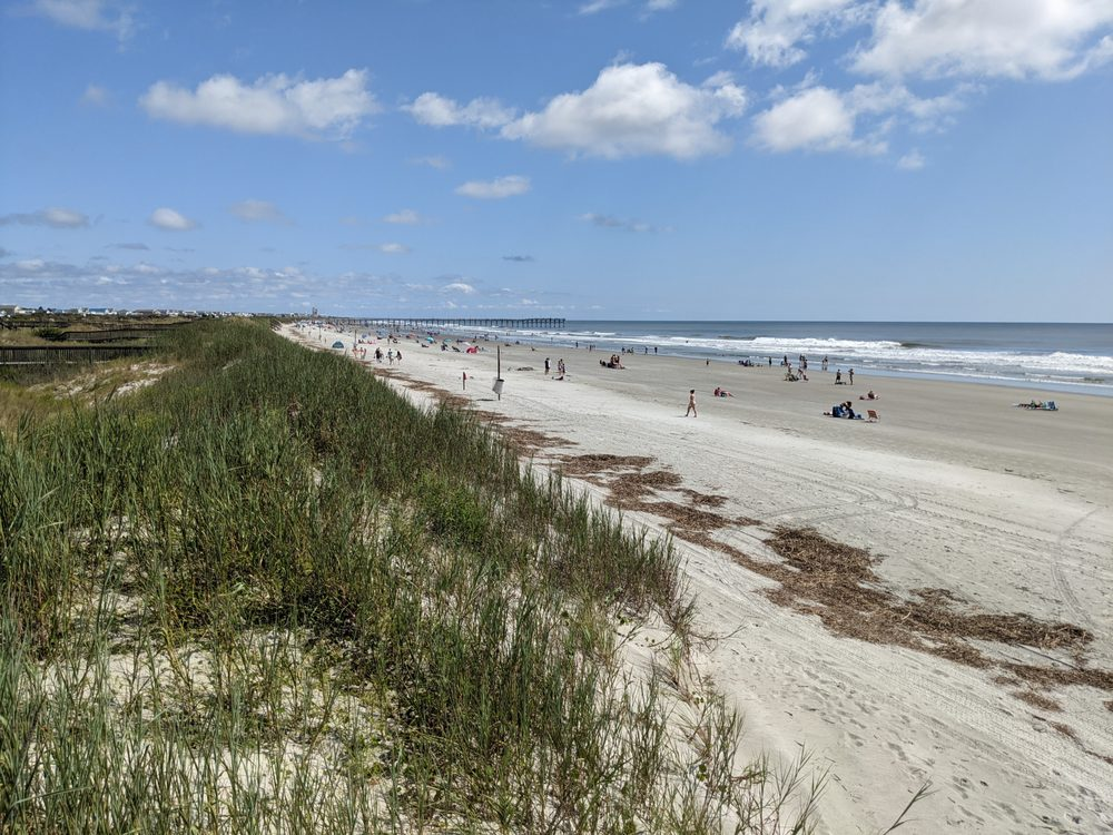 Sunset Beach in North Carolina