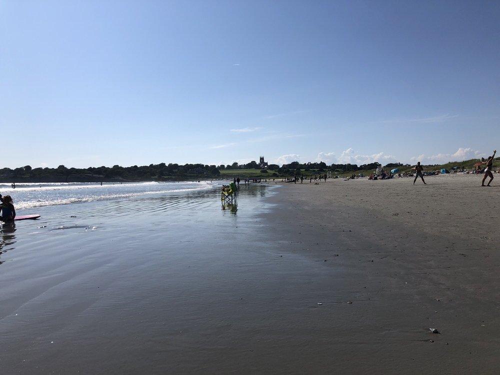 Second Beach/Sachuest Beach in Rhode Island