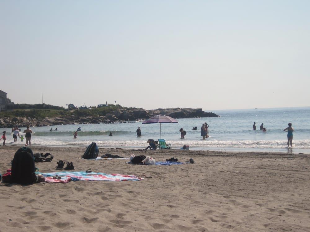 Wallis Sands Beach in New Hampshire