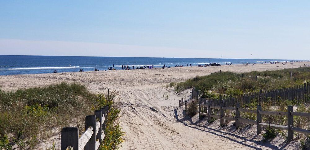 Long Island Beach in New Jersey