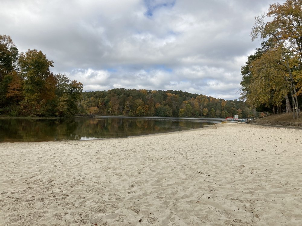 Pennyrile state park beach in Kentucky