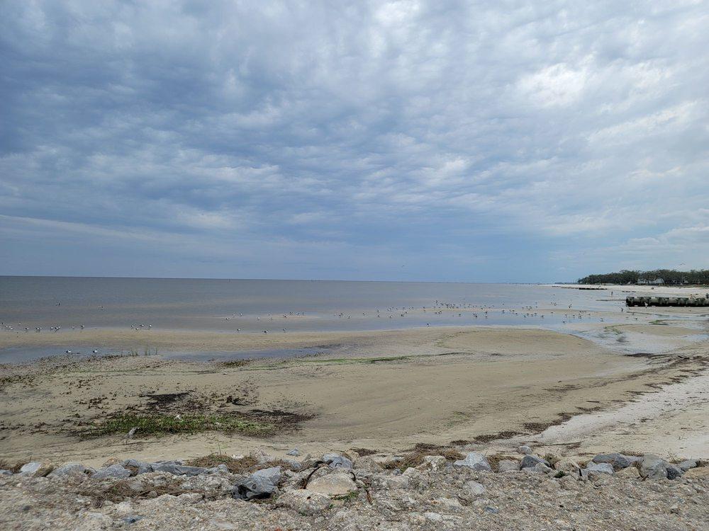 Bay St. Louis Beach Mississippip