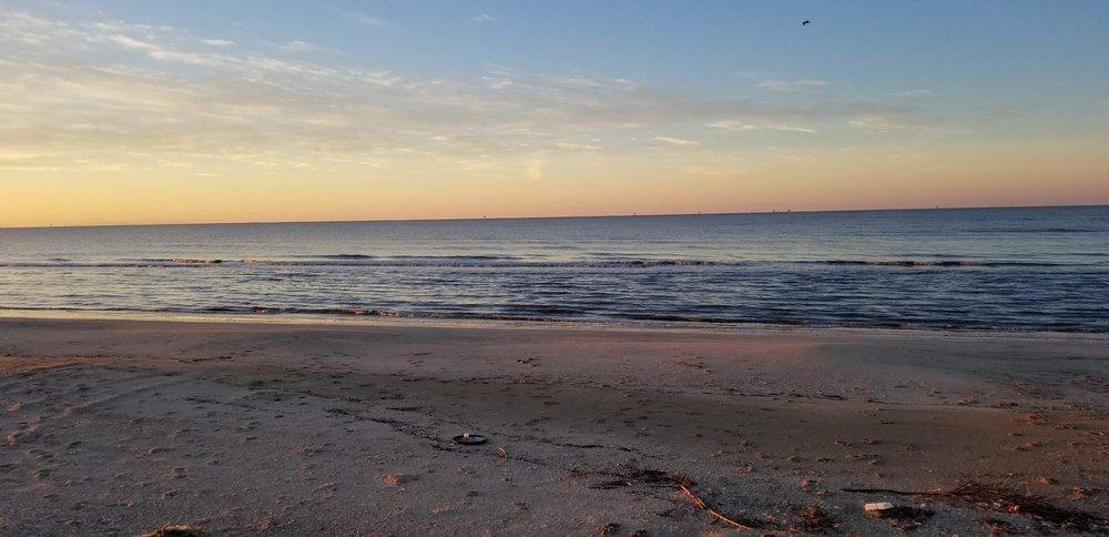 Rutherford Beach in Louisiana