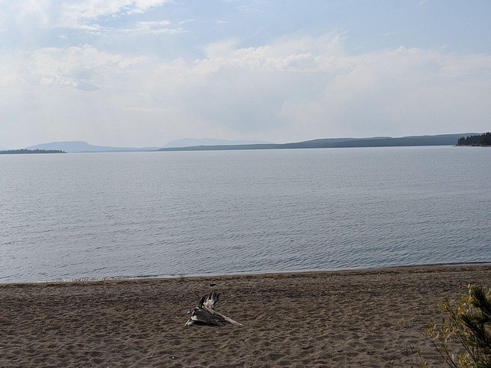 Yellowstone Lake Wyoming