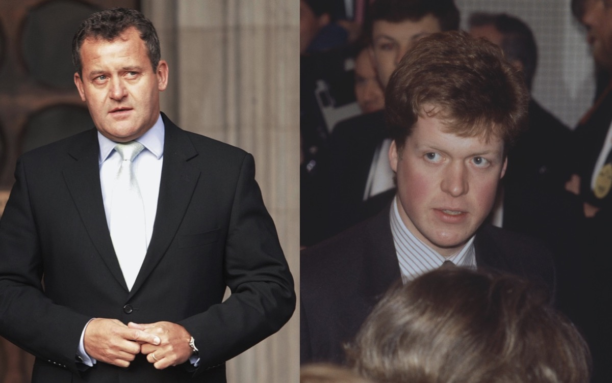 Paul Burrell and Viscount Althorp