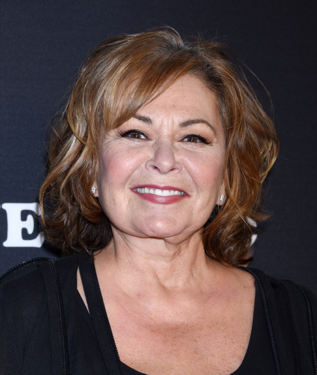 roseanne barr on the red carpet
