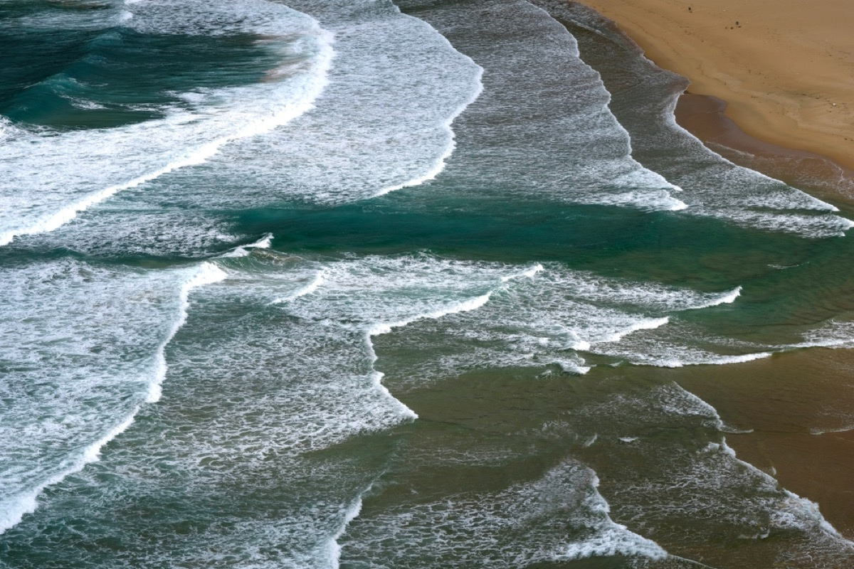 rip current in the ocean