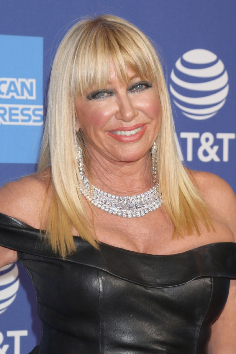 suzanne somers on the red carpet