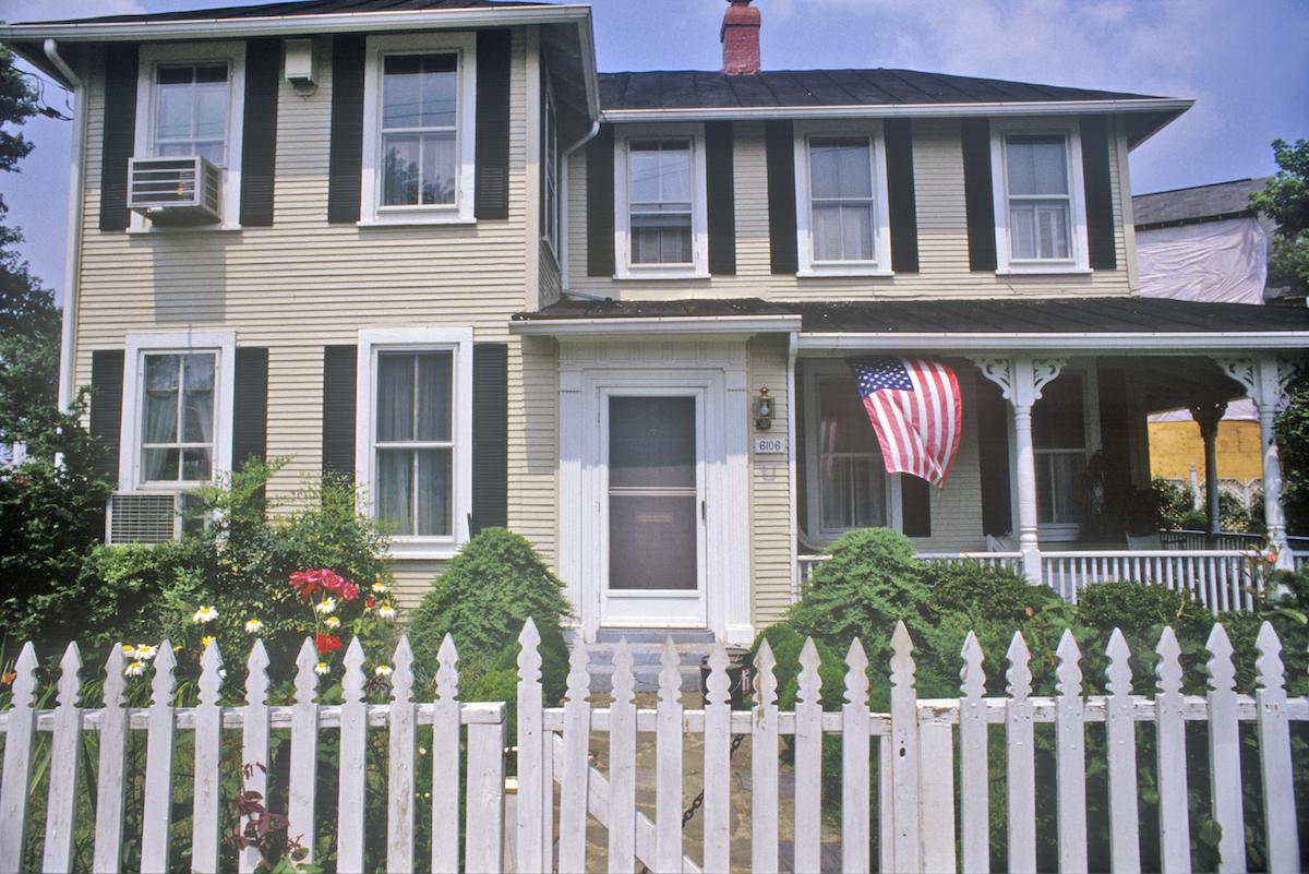 House in Glen Echo, Maryland