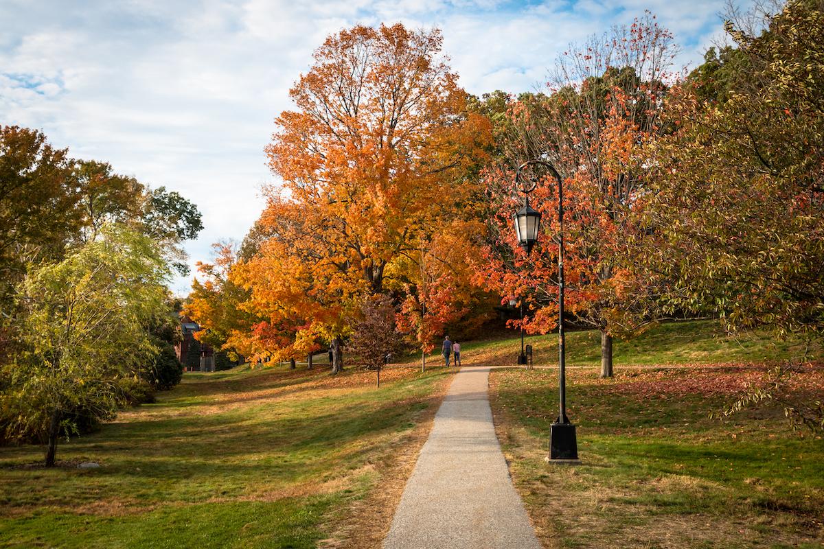 Waban Lake Park Massachusetts