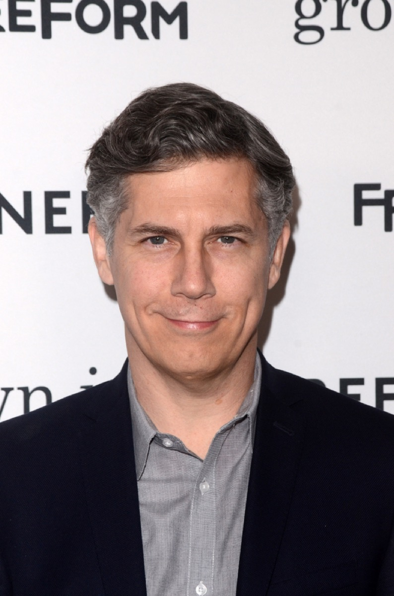 chris parnell on the red carpet