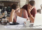 Couple stressed over bills