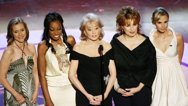 Meredith Vieira, Star Jones, Barbara Walters, Joy Behar and Elisabeth Hasselbeck 2006