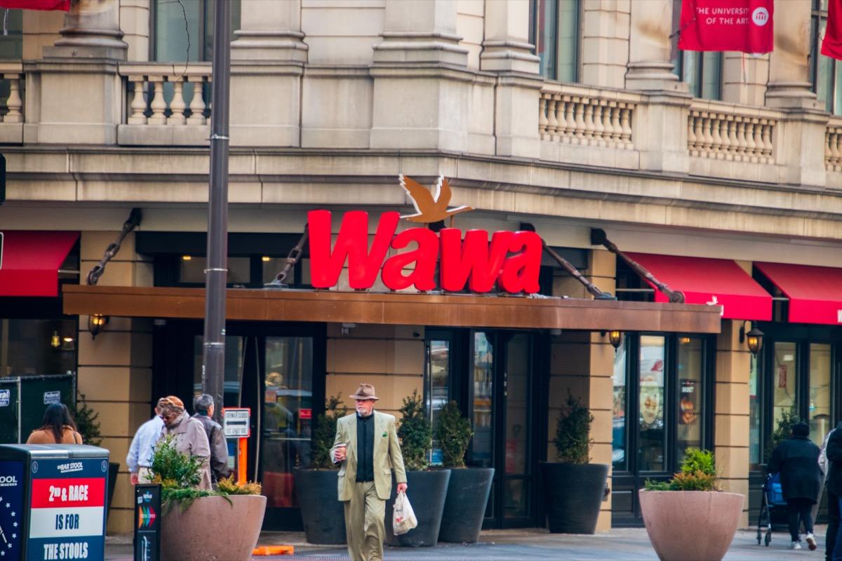 wawa's philadelphia flagship store