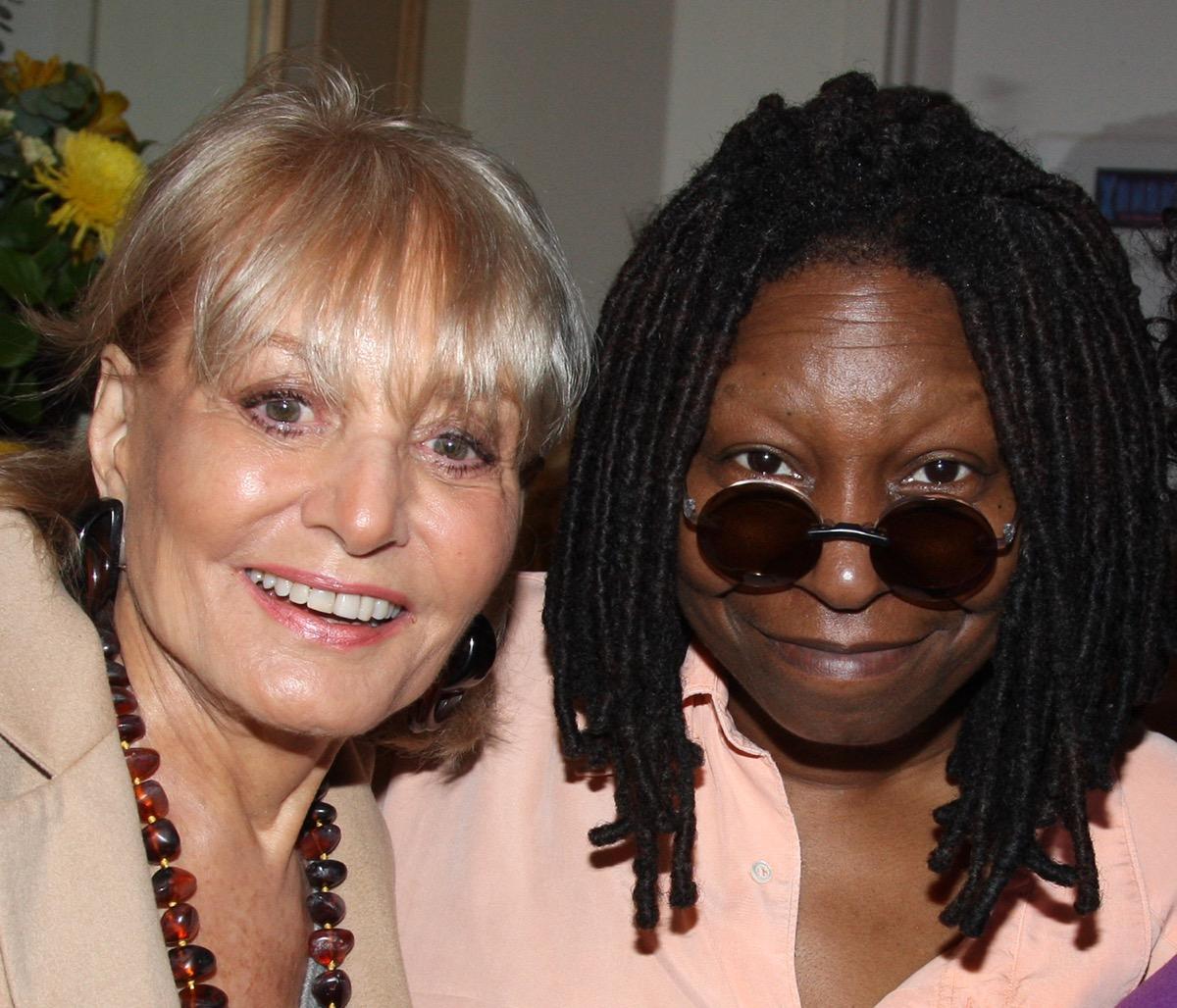 Barbara Walters and Whoopi Goldberg 2008