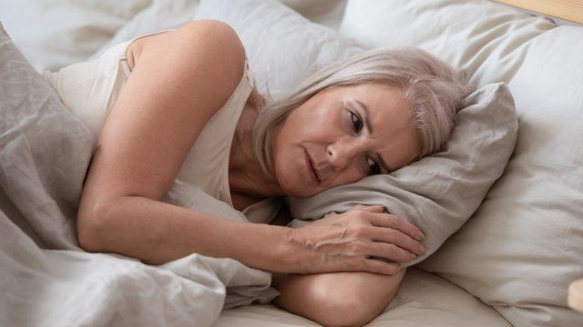 Woman sad tired